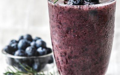 Blueberry Cricket Powder Smoothie